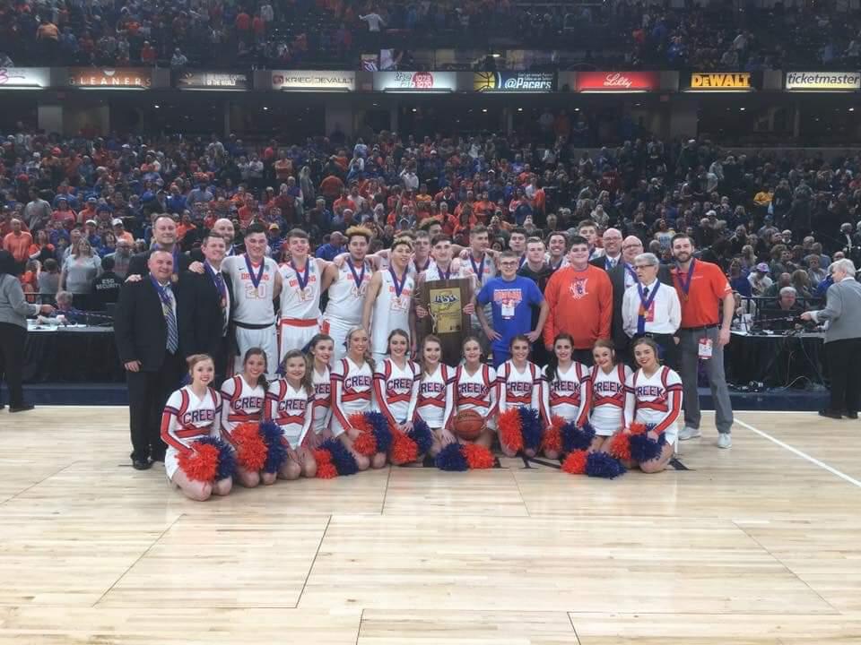 Boys Basketball: Dragons Claim Creek's First IHSAA State Title