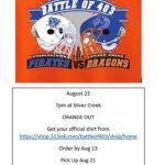Football: Battle for 403 T-shirts on Sale