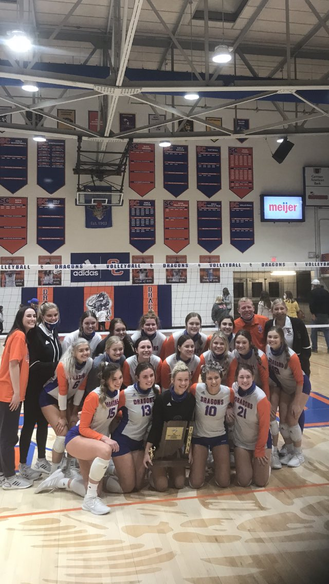 Volleyball: Lady Dragons Win Sectional Title