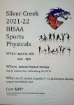 Athletics: Sports Physical Night at Jackson Physical Therapy – 4/28/21