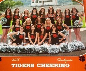 Tiger Cheering 2015-16