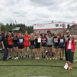 Girls Varsity Track finishes 2nd place at OVAC Championship