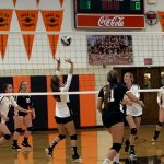 Lady Tigers Roll Over Bellaire in Volleyball Season Opener