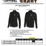 Athletic Boosters Offer Grant Sportswear for the Holidays