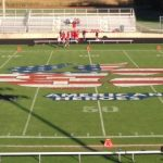 Football Field Ready for Homecoming