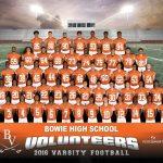 2016-17 Bowie High School Varsity Football Team