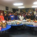 Bowie Athletes Feed 21 Local Families for Thanksgiving!