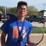 Boys Tennis Singles Champion!