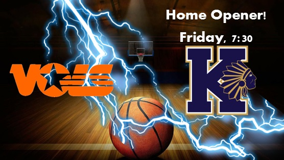 Boy's Basketball Home Opener Friday