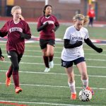 Spalding High School Girls Varsity Soccer beat Westside High School 10-0