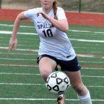 Spalding High School Girls Varsity Soccer beat Riverdale High School 11-0