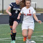 Spalding High School Girls Varsity Soccer falls to Westminster School 7-1