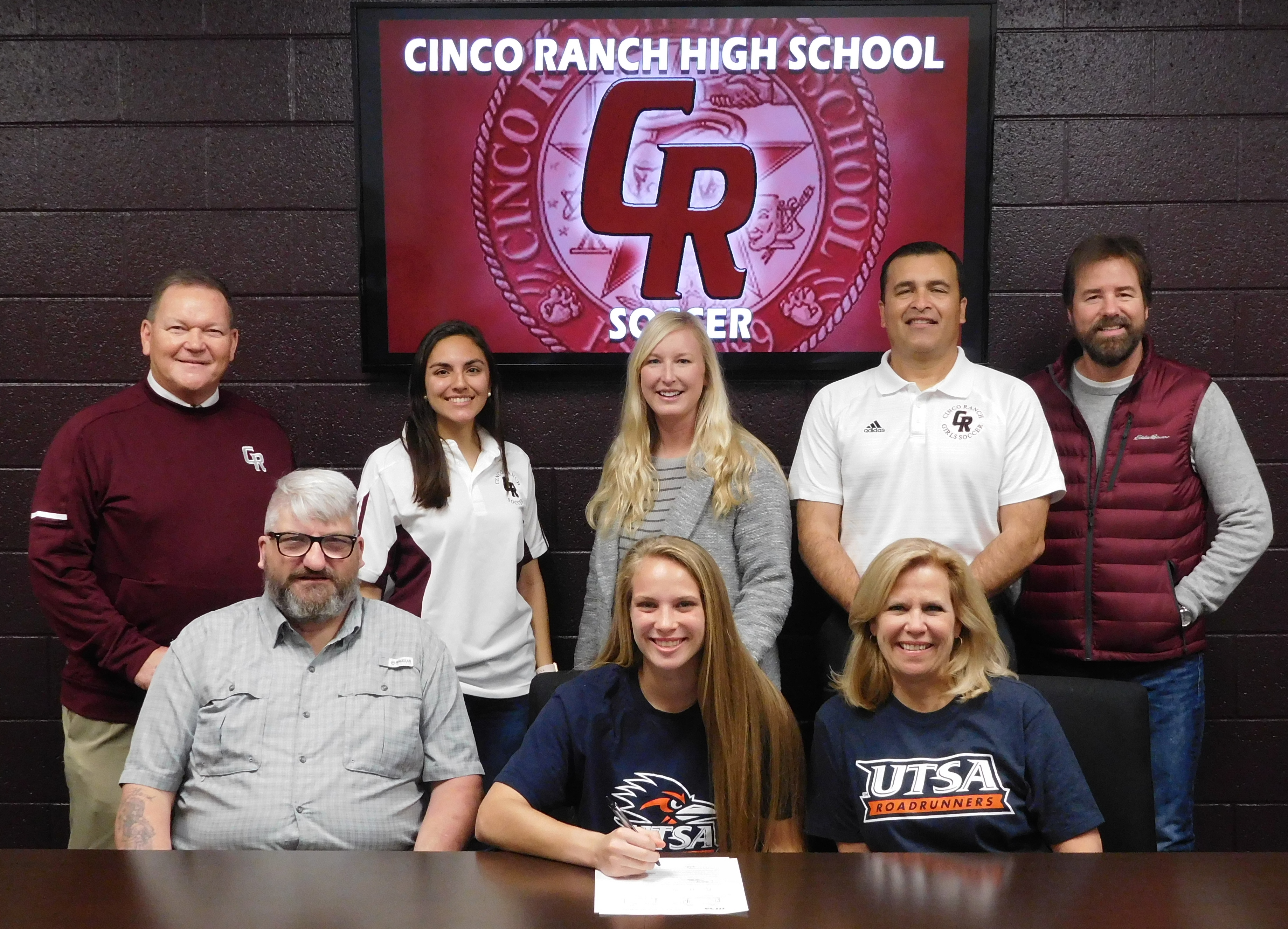 National Signing Day at Cinco Ranch