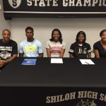 Congratulations to Shiloh's Spring Basketball Signees