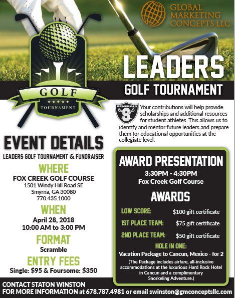 Shiloh HS Athletic Golf Tournament!!!