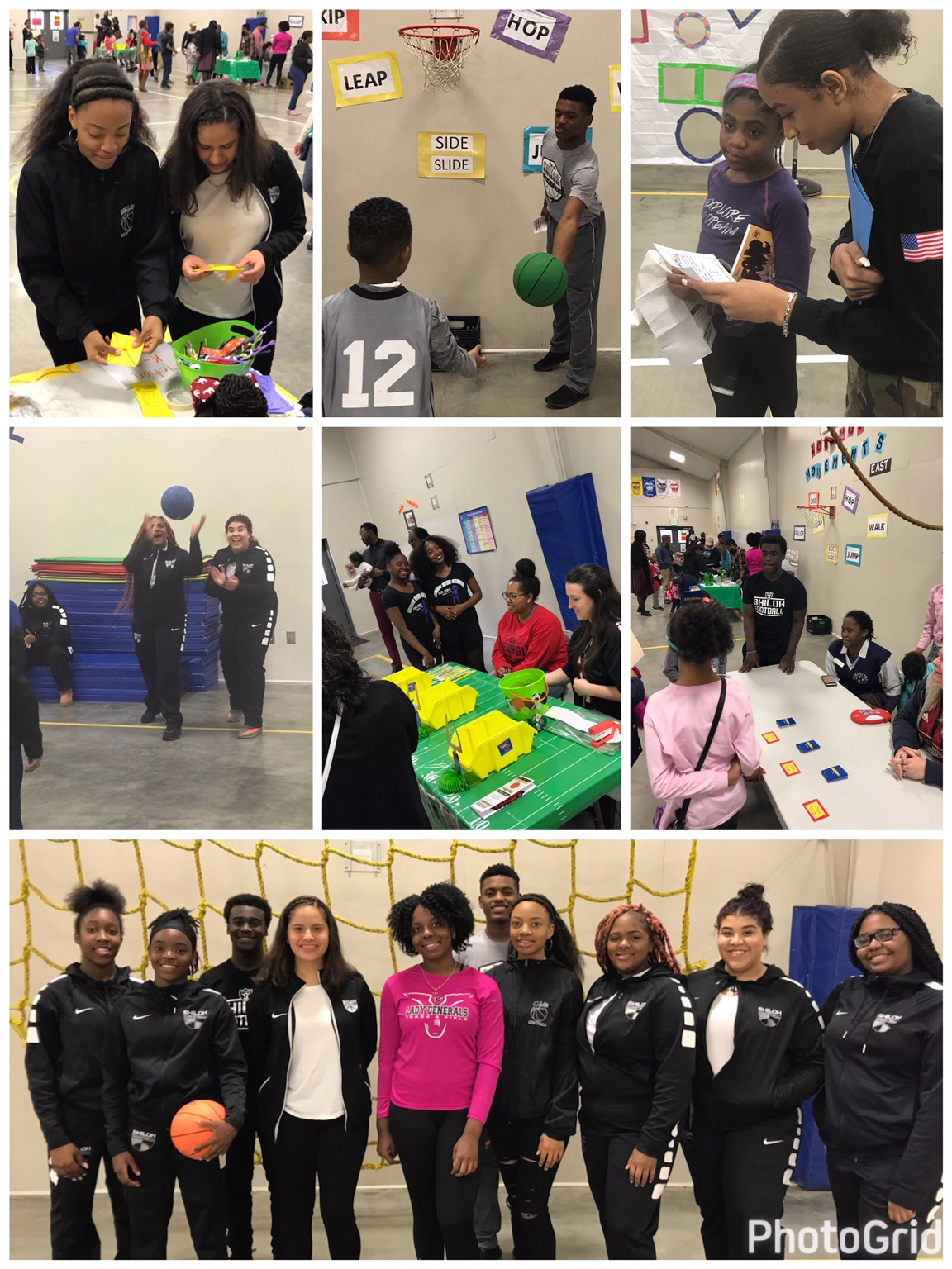Shiloh Athletes Giving Back To The Youth!