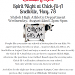 Chick -Fil-A Spirit Night