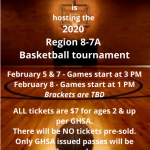 Basketball Region Tournament Being Held At Shiloh!