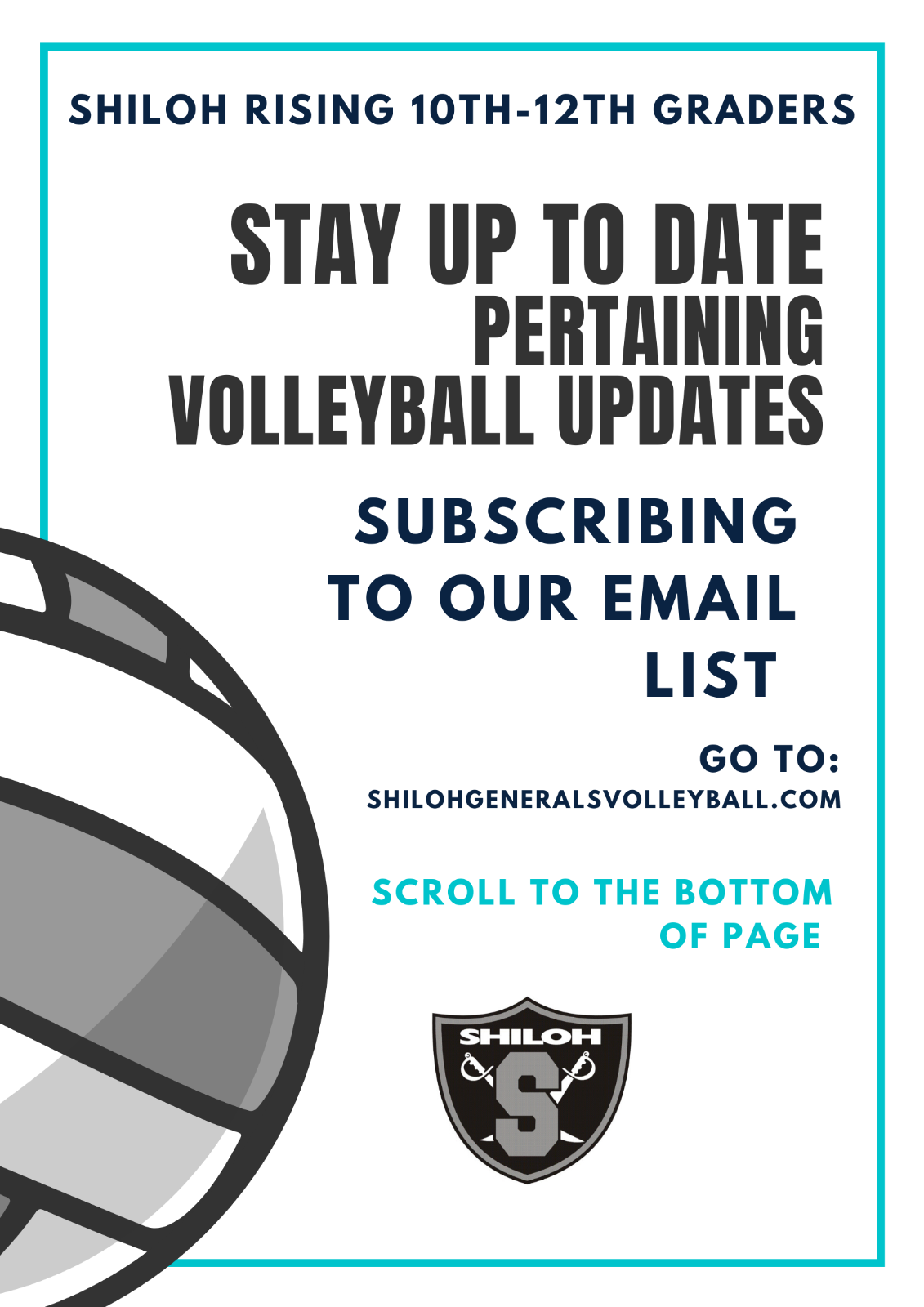 Volleyball Interest Meeting Information