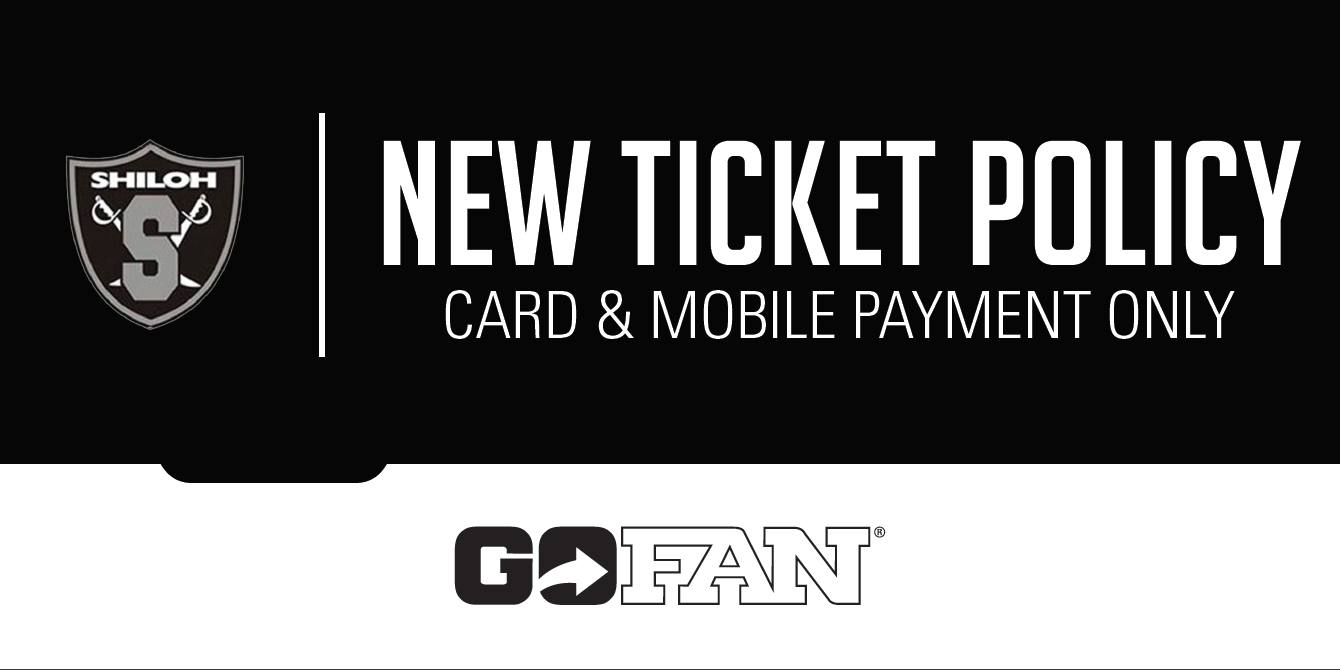 NEW TICKET POLICY: Card & Mobile Payment Only