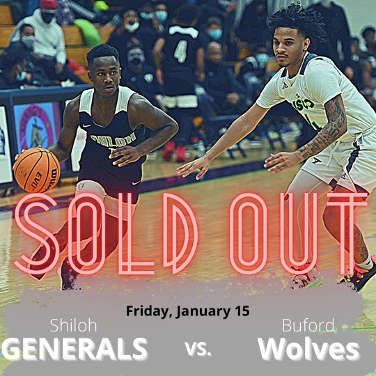 Shiloh vs Buford Game Tonight Is Sold Out