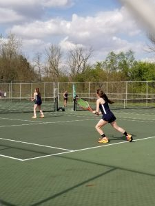 Tennis at Hagerstown–Girls get 4-1 win!