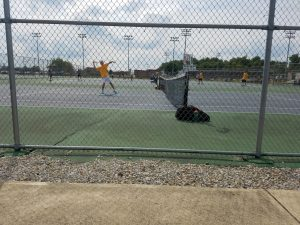 Raider tennis off to 3 and 0 start