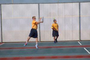 # 2 doubles at MEC