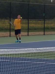 Tennis Pix from Randolph Southern Match