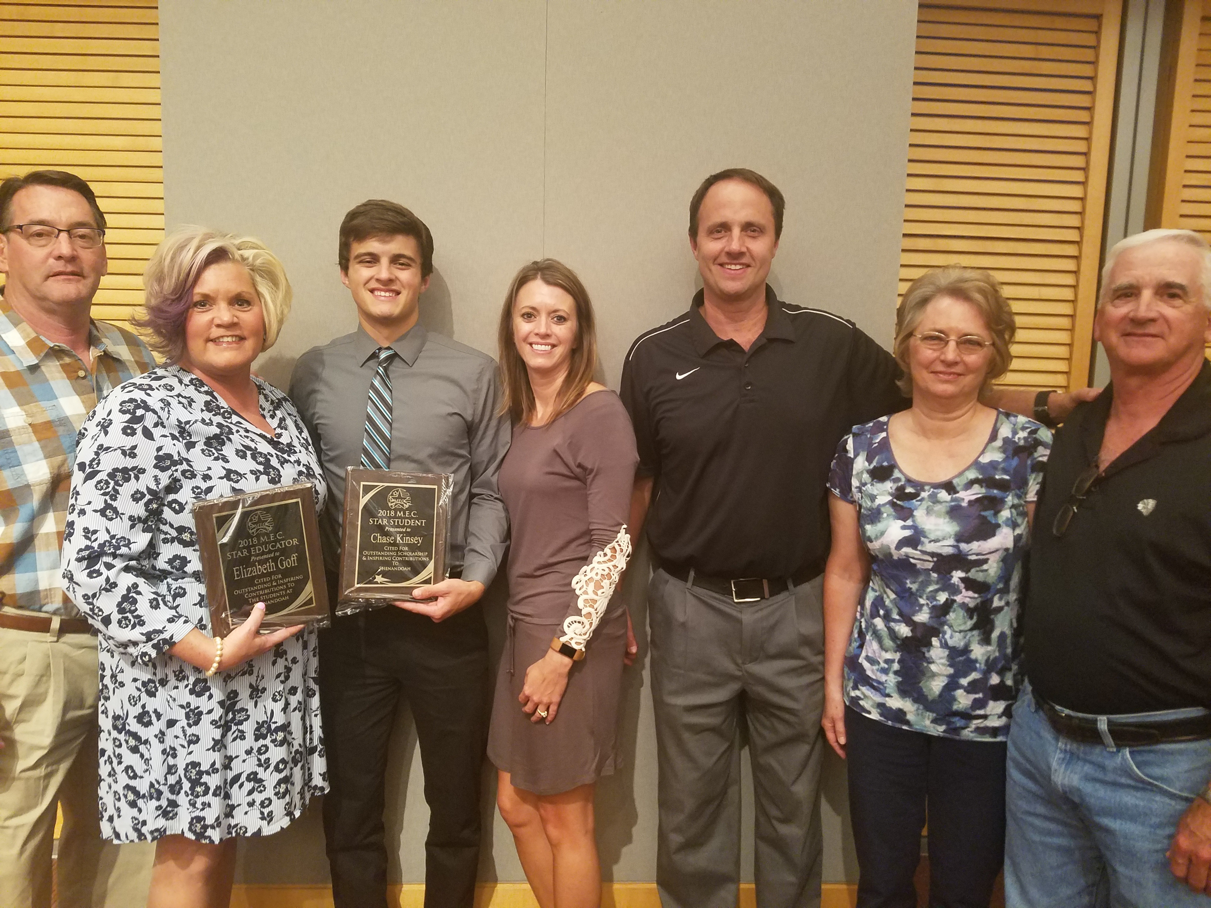 Raiders MEC Star Chase Kinsey Honors Mrs. Goff