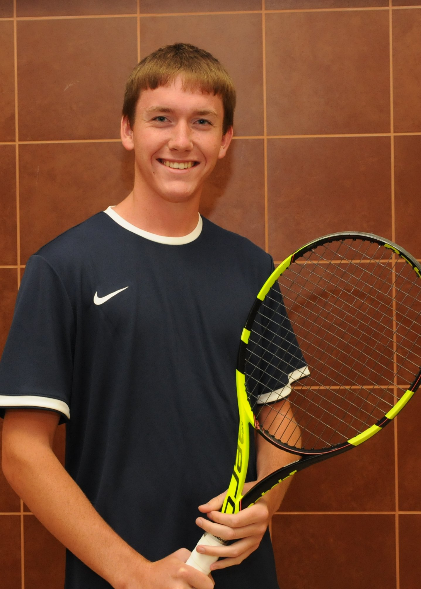 Senior Cory Evans Starts Year With Win at #1 Singles