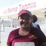 GIRLS TENNIS PLAYER INTERVIEW:  SAMANTHA MEYER