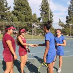 GIRLS VARSITY TENNIS @ LA MIRADA