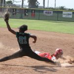 Canyon Springs High School Varsity Softball falls to Redlands East Valley High School 7-6