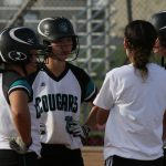Canyon Springs High School Varsity Softball beat Colton High School 7-4
