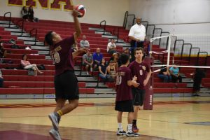 Boys Volleyball 17-18