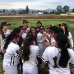 Girls Varsity Softball opens the season with a 27-0 win over La Verne Lutheran