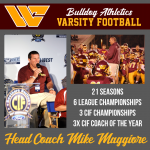 West Covina Legend, Three-Time CIF Champion Mike Maggiore is Returning to Lead Bulldogs' Program After Three Years Away