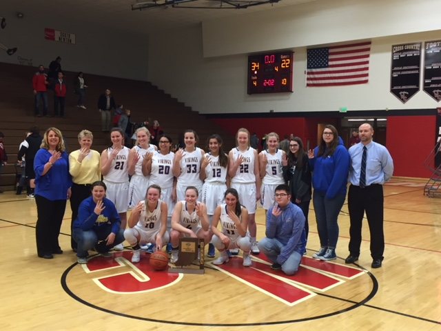 2018 Girls Basketball Sectional Champs!!
