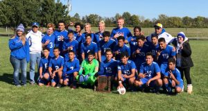 2019 Boys Soccer Sectional Champs!!