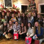 LGHS Softball.. Steak Dinner, Gift Exchanges and Fellowship; what a great way to celebrate with the softball players and coaches!!