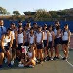 Diamond Ranch High School Girls Varsity Tennis beat West Covina High School 12-6