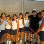 Diamond Ranch High School Girls Varsity Tennis beat Charter Oak High School 10-8