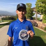 Diego Lojero Representing DR Boys Golf at CIF Championships