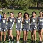 Girls Varsity Cross Country finishes 5th place at League Meet