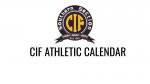CIF 2020-2021 ATHLETIC CALENDAR