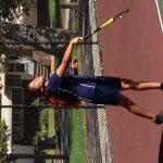 Max S. Hayes High School Girls Varsity Tennis scores 10 points at meet