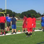 Freshman football camp taking place this week