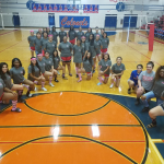 South Garland High School Girls Varsity Volleyball falls to Rowlett High School 3-0