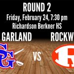 AREA PLAYOFF:  South Garland vs Rockwall